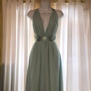 ASOS petite 12 gown bridesmaid prom maxi dress NWT